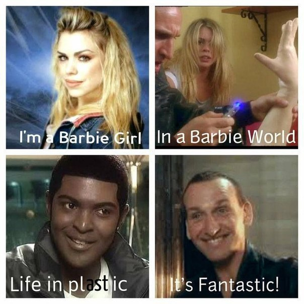 Barbie Girl Doctor Who