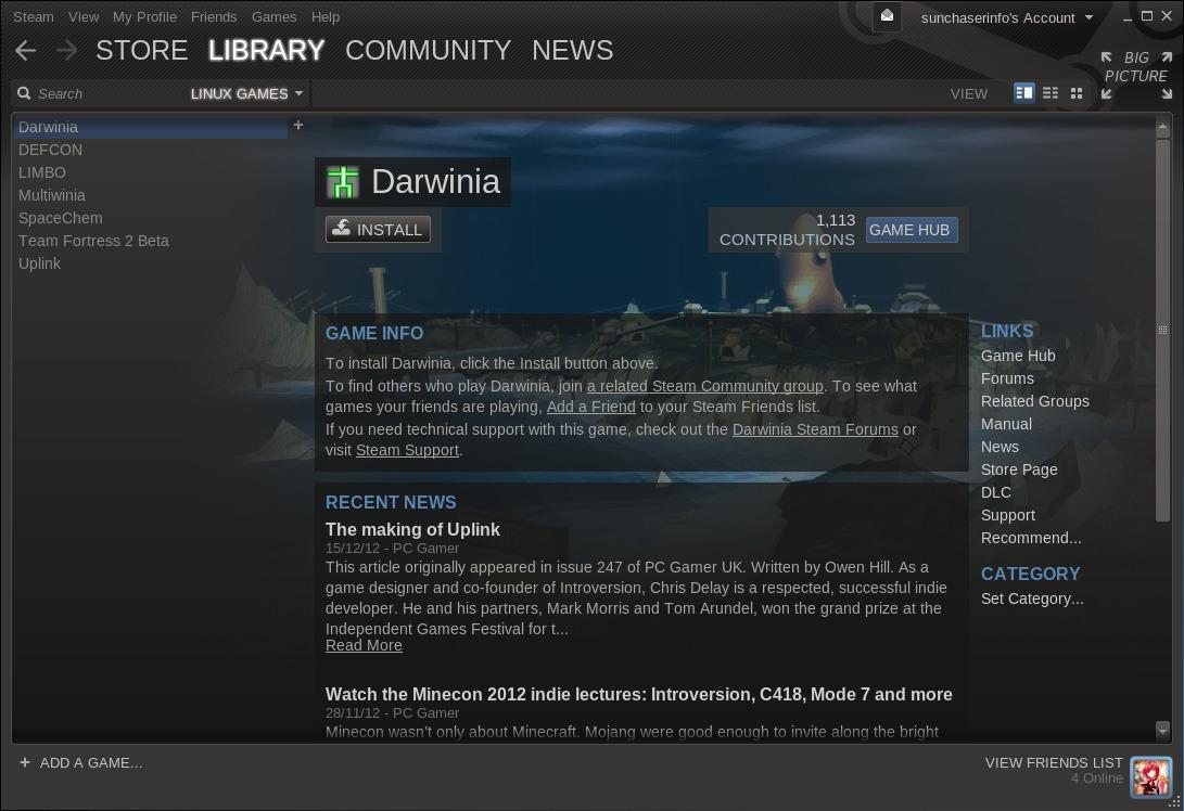 steam linux beta