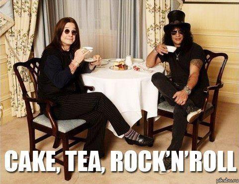 cake tea rock'n'roll