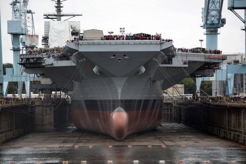 CVN-78 Dry Dock